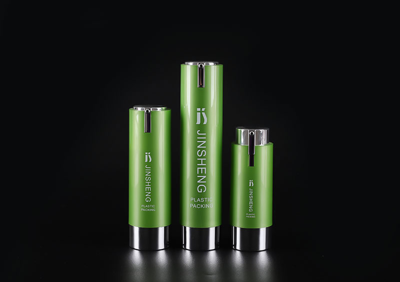 Empty Airless Cosmetic Bottle Plastic Pump Container For Travel