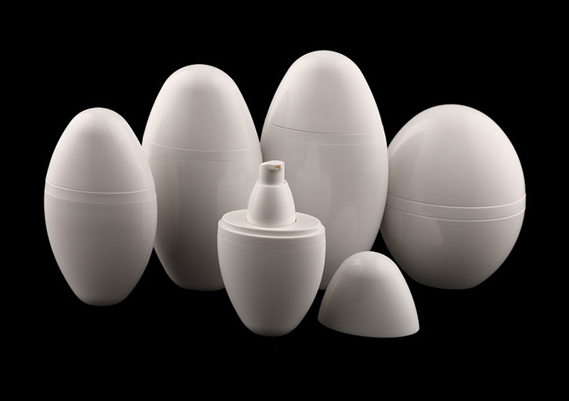 Egg Shape 15ml 30ml  Small Plastic Bottles