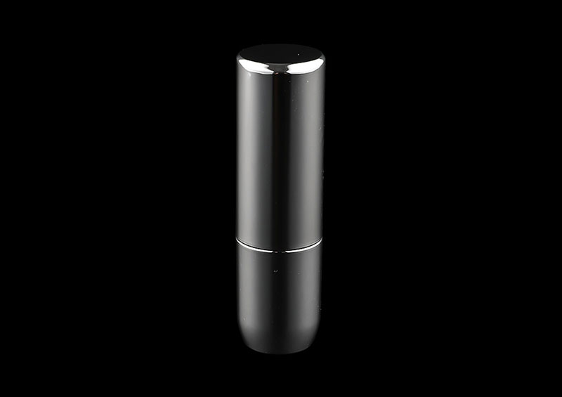 Custom Printed Plastic Black Square Lipstick Tube