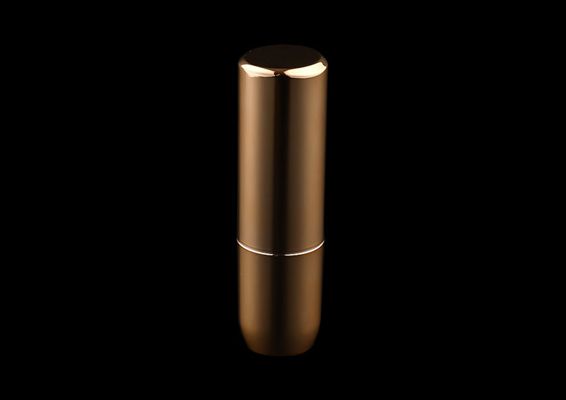 Custom Printed Golden Lipstick Tube