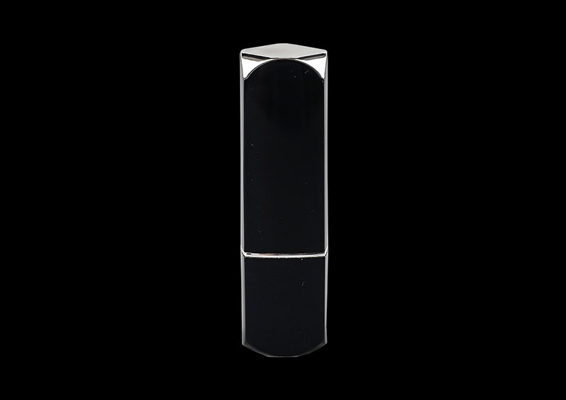 Custom Plastic Black Lipstick Tube Packaging